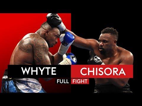 FULL FIGHT: Dillian Whyte vs Dereck Chisora | 10th December 2016