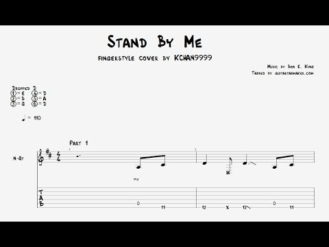 Stand By Me TAB - fingerstyle guitar tab - PDF - Guitar Pro - YouTube