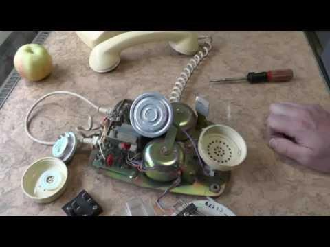 А что там внутри :) телефон 802-8 TELECOM