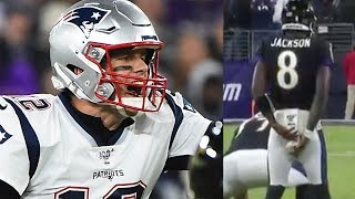 lamar-jackson-caught-tipping-plays-while-tom-brady-is-accused-of-using-a-racial-slur-during-snf