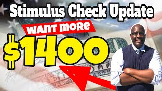 How To Get  More $1400 Stimulus Check Money Update 2021?