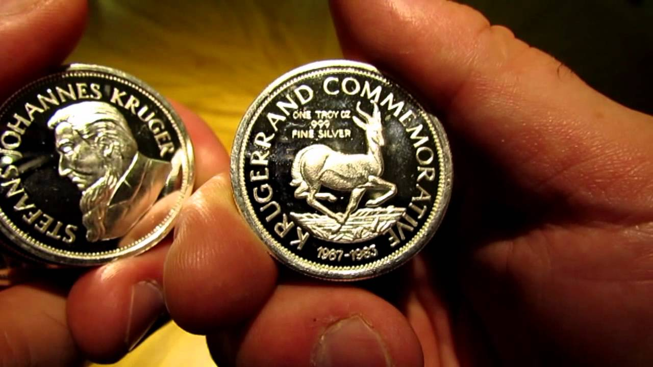 1 Oz 999 Silver Krugerrand Commemorative Coins South