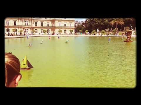 Sailboats at the Palais du Luxembourg