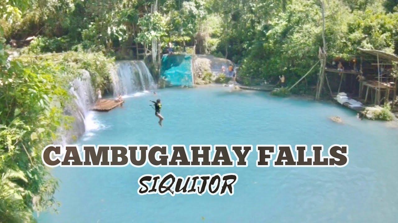 SIQUIJOR PHILIPPINES | SHORT TRIP TO CAMBUGAHAY FALLS
