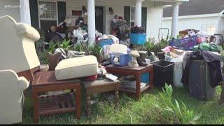 Dillon Neighborhood Begins Cleanup