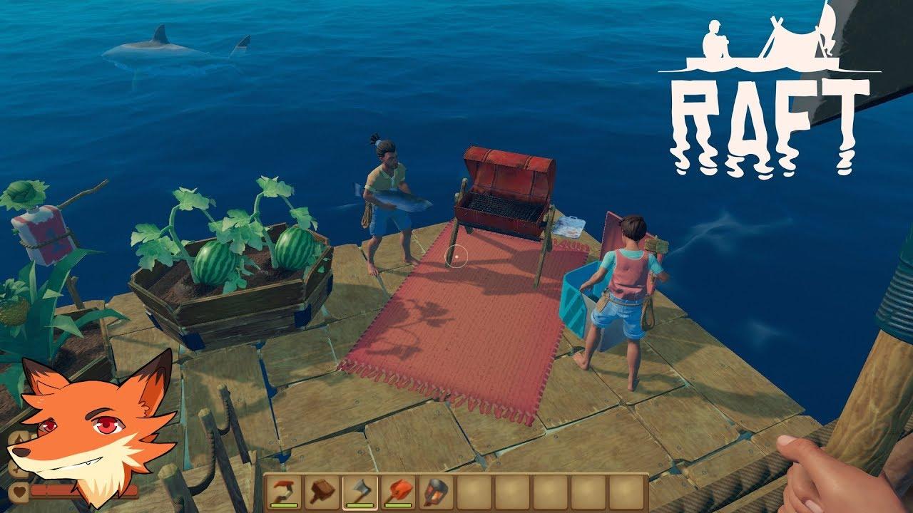 Download RAFT #1 [FR] Survivre en pleine mer sur son radeau! Le jeu arrive sur Steam avec du COOP!