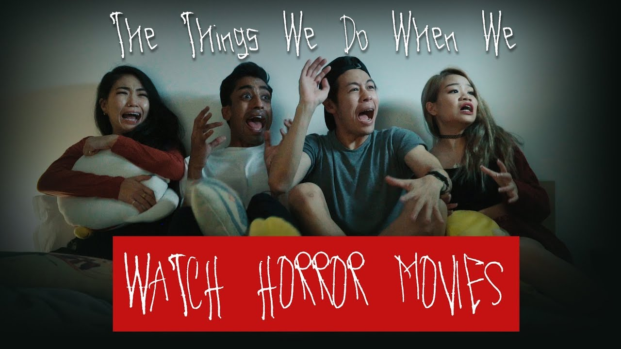Video How People React to Horror Movies