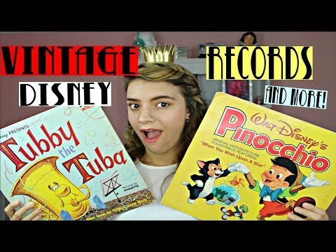 VINTAGE THRIFT HAUL | DISNEY, RECORDS, AND MORE