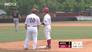2018 OVC Baseball Tournament Highlights - #4 Jacksonville State 8, #5 Austin Peay 2 - May 23, 2018