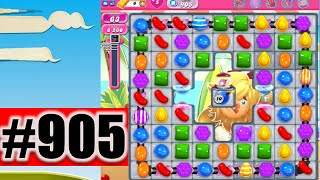 Candy Crush Saga Level 905 | Complete!