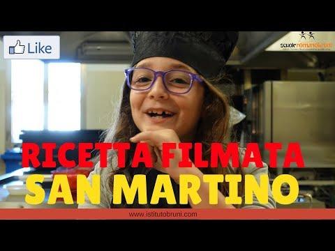 Ricetta filmata! Il dolce di San Martino