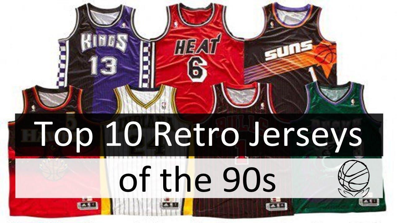 best retro jerseys