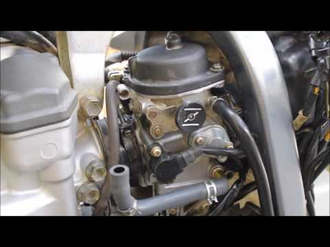 How to remove and reinstall the carburetor from a Suzuki DRZ 400 S & SM (Carb removal)