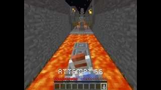 Repeat youtube video The Impossible Game in Minecraft (parkour map) - Level 1