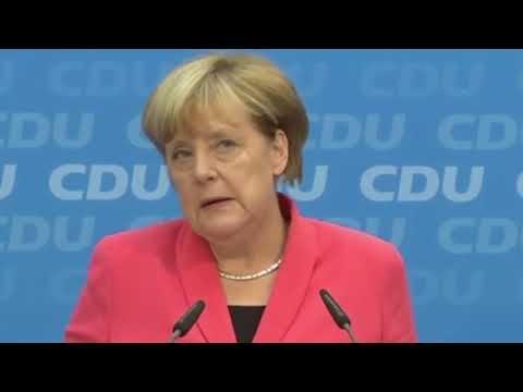 Bundeskanzlerin richtet emotionale Botschaft an alle Merkel muss weg Schreier   Video   FOCUS Online