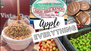 Leave NOTHING Uneaten! | Apple Hill | Placerville, CA Fall 2020