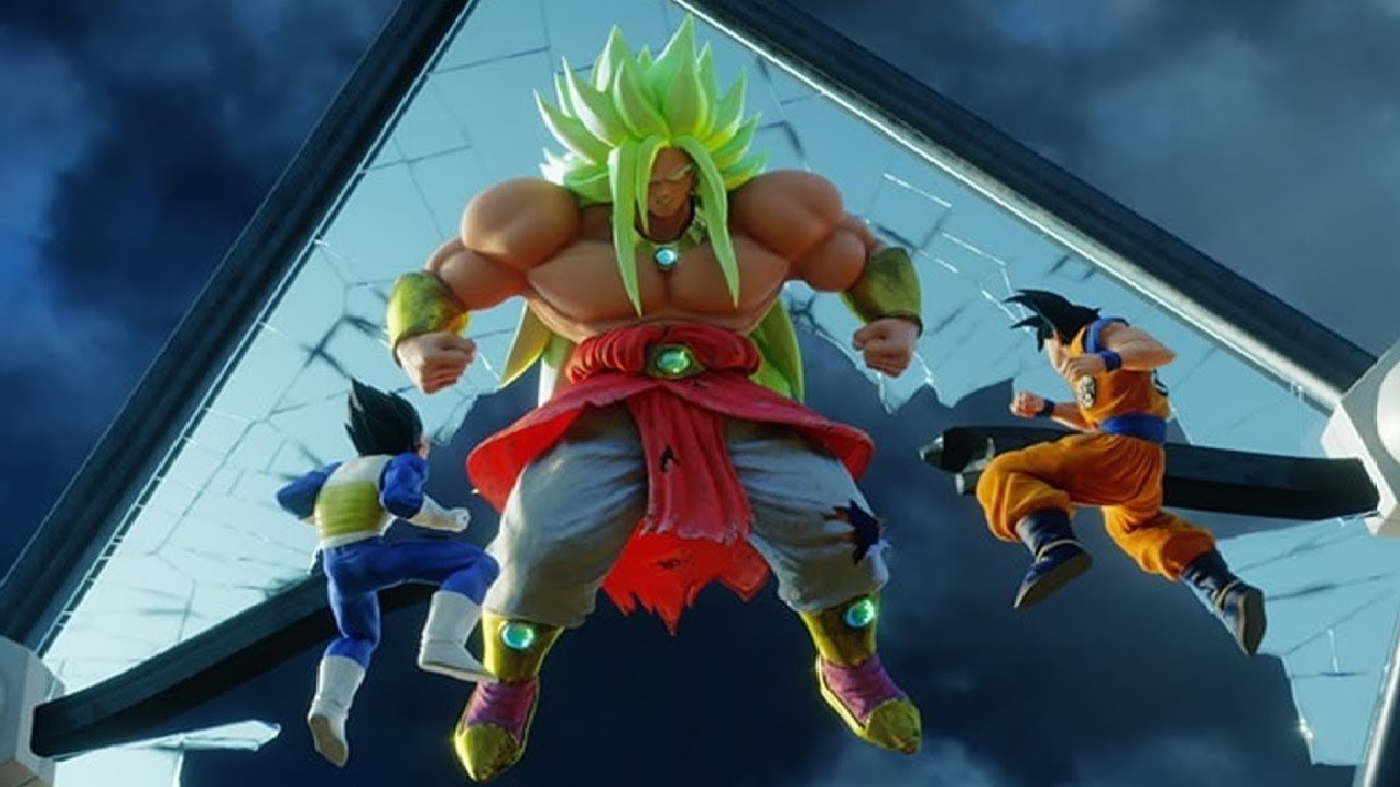 Ball Z Father Dragon Broly