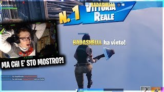TOP PLAYER ITALIAN ENTRA WITH A SECOND ACCOUNT and STUPISCE ALL!! Fortnite ITA