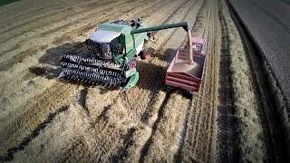 Żniwa Fendt 5180 & Talerzowanie John Deere 6420 ☆ Harvest 2014 ㋡ MafiaSolec