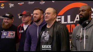 Bellator Heavyweight World Grand Prix Tournament Staredowns - MMA Fighting