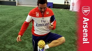Santi shows his skills!