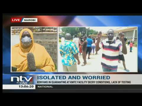 Nairobi: Kenyans in quarantine protest 'unfair treatment' by health officials