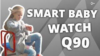 детские умные GPS часы smart baby watch q60 обзор