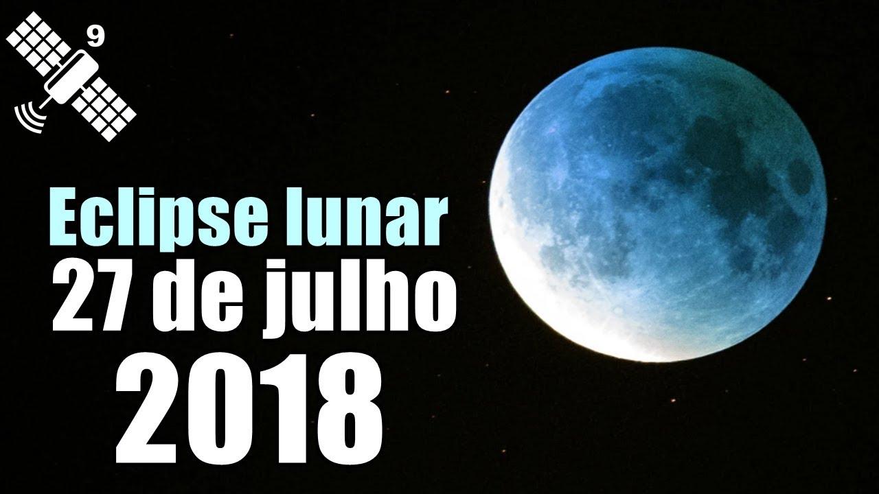 Resultado de imagem para Eclipse Lunar 27/7/2018