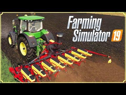 FARMING SIMULATOR 19 #20 - NUOVA PIANTATRICE PER MAIS E GIRASOLI - GAMEPLAY ITA thumbnail