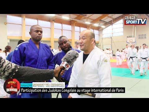 LES JUDOKAS CONGOLAIS AU STAGE INTERNATIONAL DE JUDO EN FRANCE