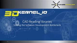 Webinar: CAD Reading libraries solving the software development bottleneck