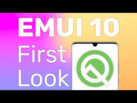 EMUI 10 (Android Q) First Look on the Huawei P30 Pro