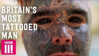 Video Britain's Most Tattooed Man | Hayley Pearce download MP3, 3GP, MP4, WEBM, AVI, FLV Juni 2018