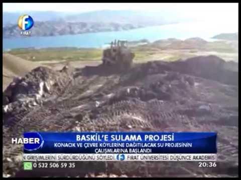Kanal Fırat Haber - Baskil'e Sulama Projesi