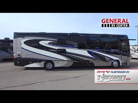 General RV Center | 2018 Fleetwood Discovery LXE 40G | Class A Diesel Motorhome