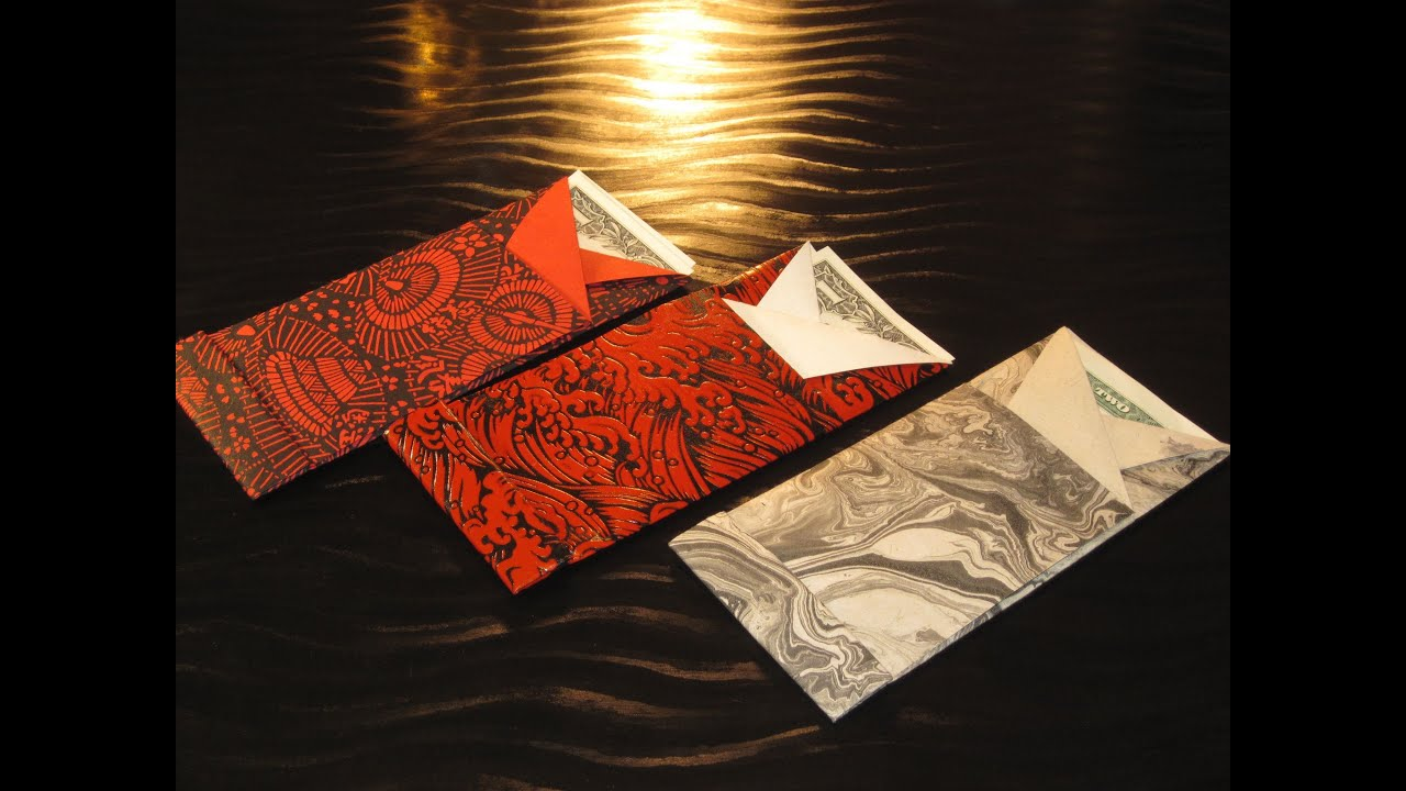 Origami: Sy Chen's Red Envelope - YouTube - photo#34