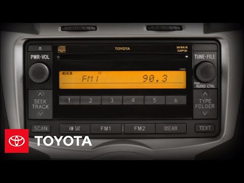 2011 Yaris How-To: Audio Controls | Toyota