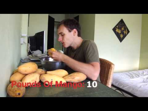 My Nam Dok Mai Mango Raw Food Feast (Normal Eating Series)