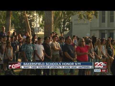 Bakersfield Schools honor 9/11