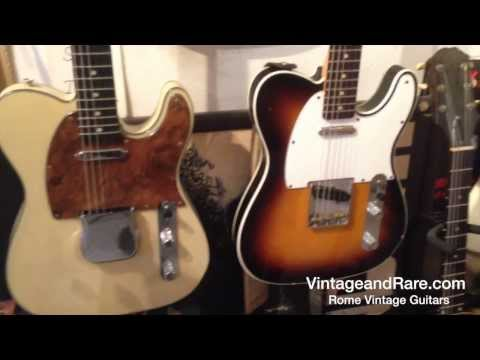 Rome Vintage Guitars / Store Presentation / Vintage & RareTv