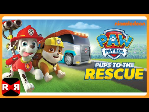 Paw Patrol Pups to the Rescue - All Rescue Missions Including The Jungle - iOS / Android Gameplay