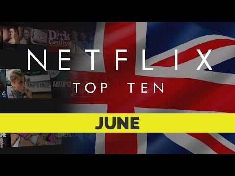 Top Ten movies on Netflix UK for June 2017