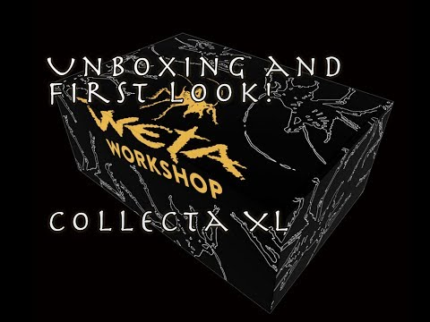 Weta Workshop's Weta Collecta (XL) Mystery Box - Unboxing and First look!