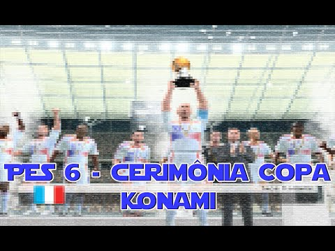Pes 6 Cerimoniacopa Konami France World Cup 2006 Champions