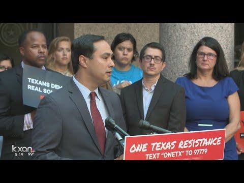 One Texas Resistance holds news conference to address 'discriminatory' legislation