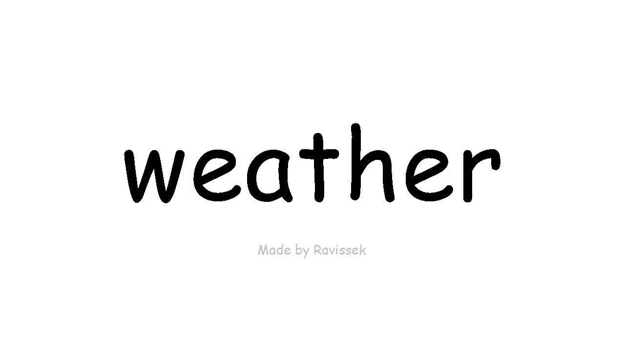 Naučte se anglicky počasí - YouTube 2e15620162