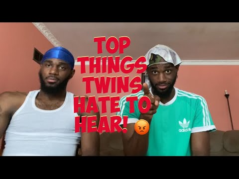 Top Things Twins Hate to Hear *Must Watch ��*