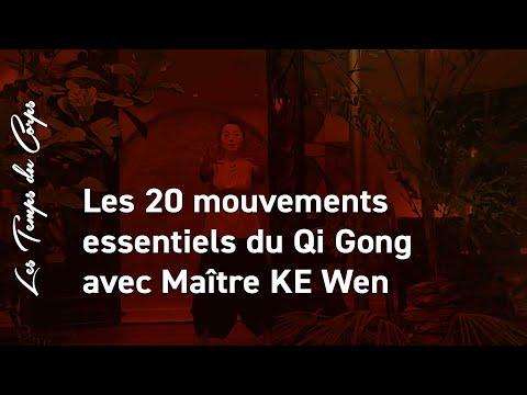 Maître Ke wen, les 20 mouvements essentiels du Qi Gong