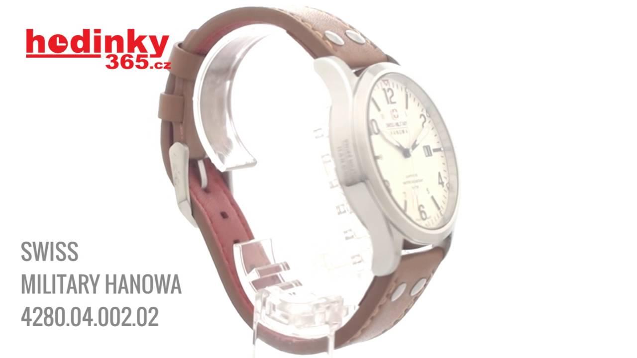 190e2ffa143 Swiss Military Hanowa 4280 04 002 02 - YouTube