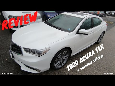 2020 Acura Tlx Review Affordable Japanese Luxury Sedan Youtube